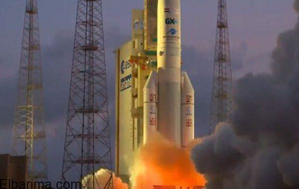 بالفيديو.. شاهد لحظة إطلاق القمر الصناعي المصري