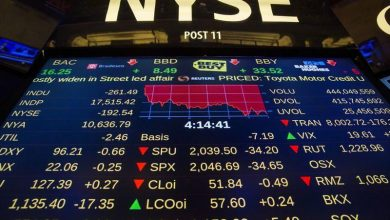 Photo of البورصة الأمريكية تغلق على انخفاض