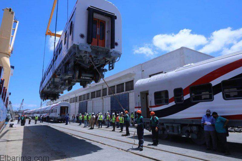 زير النقل: توريد 22 عربة قطار سكة حديد من صفقة المليار و16 مليون يورو