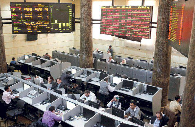تراجع المؤشر الرئيسى للبورصة المصرية بختام تعاملات جلسة الاثنين