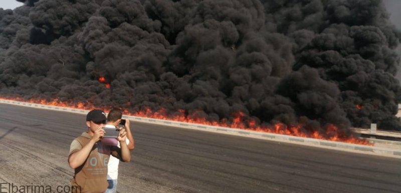 Photo of فيديو.. تفاصيل حريق خط بترول طريق مسطرد – الإسماعيلية الصحراوى