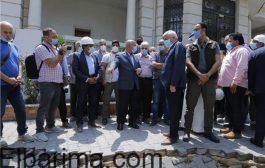 وزير النقل يتفقد محطة صفاء حجازي بالمرحلة الثالثة للخط الثالث للمترو