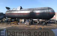 رئيس بتروجاس يكشف تفاصيل انفجار سيارة محملة بالبوتاجاز بطريق