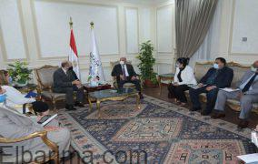 وزير النقل يستقبل السفير المجري الجديد بالقاهرة