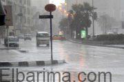 الارصاد: أمطار غزيرة ورعدية بالوجه البحرى اليوم تمتد للقاهرة والعظمى بالعاصمة 29 درجة