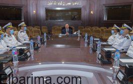 وزير الداخلية يجتمع بمستعديه والقيادات الأمنية لمتابعة خطة تأمين إنتخابات مجلس النواب