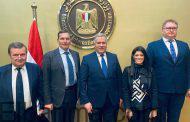 وزيرة التعاون الدولي تبحث أهم موضوعات اللجنة المصرية - الأوكرانية المشتركة