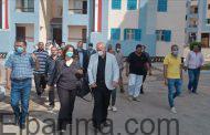 مسئولو وزارة الإسكان يتفقدون الإسكان الاجتماعى بمدينة بدر