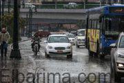 الارصاد:أمطار خفيفة إلى متوسطة وانخفاض في درجة الحرارة