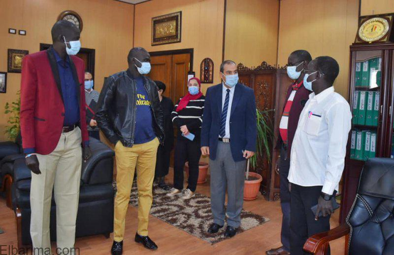 """Photo of تزامنا مع زيارة الرئيس السيسي""""بحوث البترول"""" ينظم برنامج تدريبي للأشقاء العرب بجنوب السودان"""