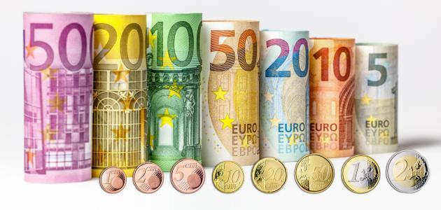 تراجع سعر اليورو أمام الجنية المصري