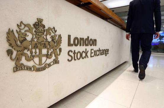 الأسهم البريطانية تغلق على انخفاض
