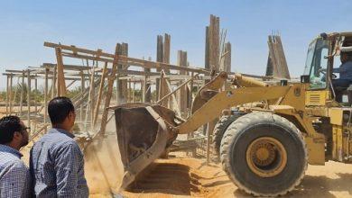 Photo of جهاز سنفكس يشن حملة مكبرة لإزالة التعديات ومخالفات البناء بمنطقة الريف الأوروبي