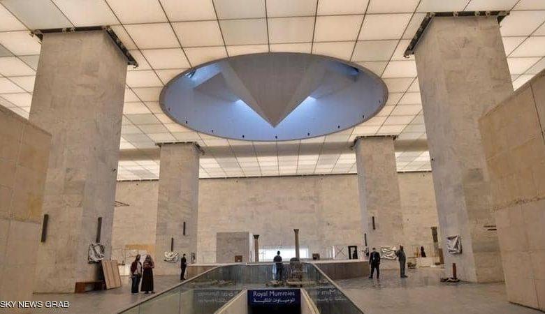 توافد آلاف الزائرين على المتحف القومي للحضارة المصرية بالفسطاط