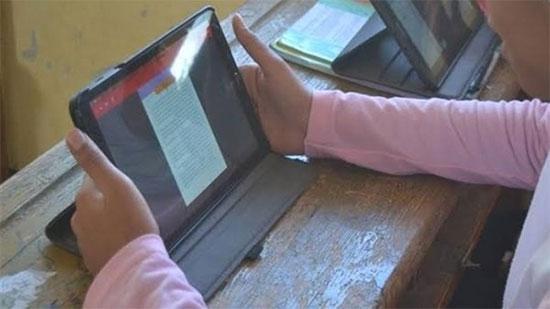 """""""التعليم"""": نجاح الاختبار التقني التجريبي لطلبة الثانوية العامة في اليوم الأول"""
