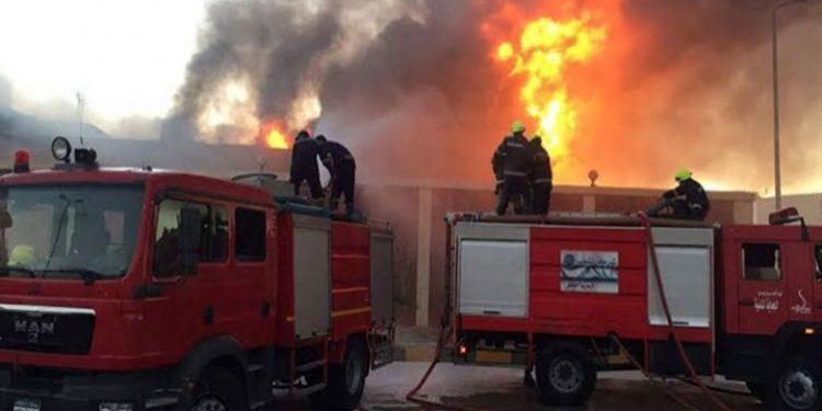 عاجل.. اندلاع حريق داخل معهد بحوث البترول .. والنيابة تباشر التحقيق