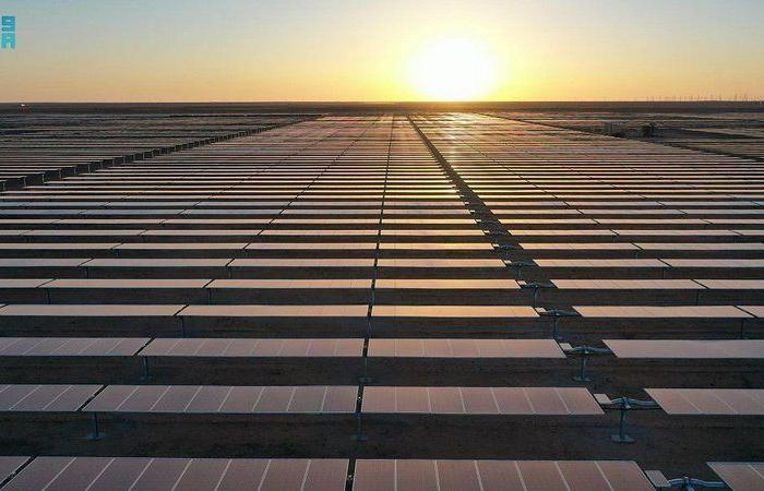 وزير الطاقة السعودي يفتتح مشروع محطة سكاكا للطاقة الشمسية