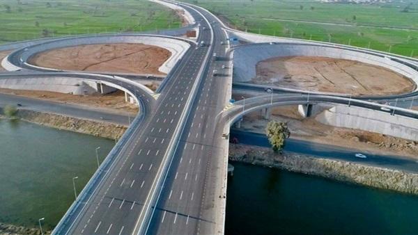 وزير النقل يتابع تنفيذ أعمال تطوير وتوسعة الطريق الدائري حول القاهرة الكبرى