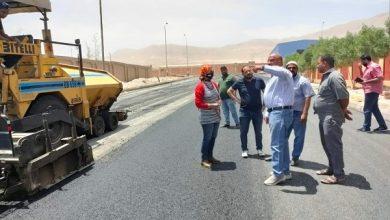 """Photo of رئيس جهاز """"خليج السويس"""" تتفقد أعمال البنية الأساسية بتوسعات منطقة عتاقة الصناعية"""
