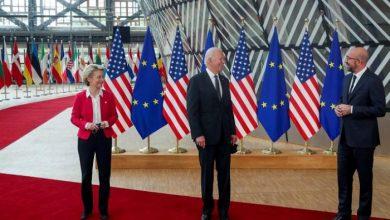 Photo of أمريكا وأوروبا تتفقان على إنشاء مجلس للتجارة والتكنولوجيا