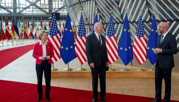 أمريكا وأوروبا تتفقان على إنشاء مجلس للتجارة والتكنولوجيا