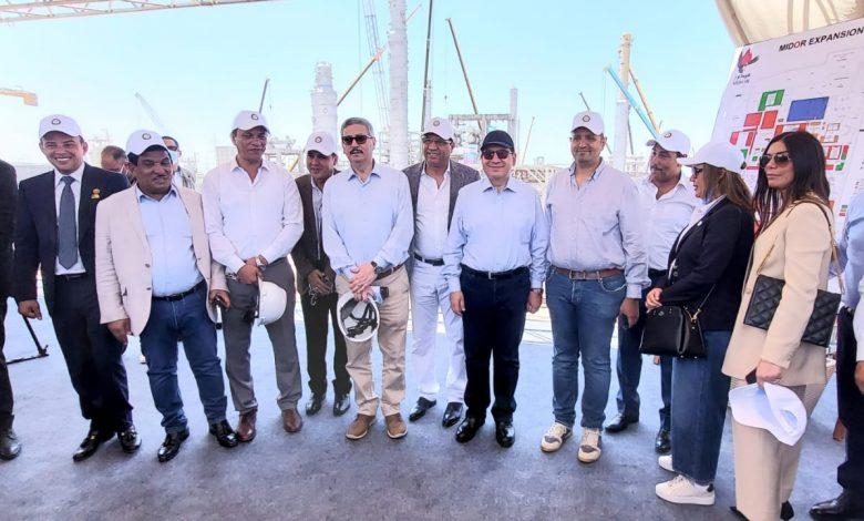 تفاصيل جولة وزير البترول ونواب البرلمان لمصفاة تكرير ميدور بالأسكندرية