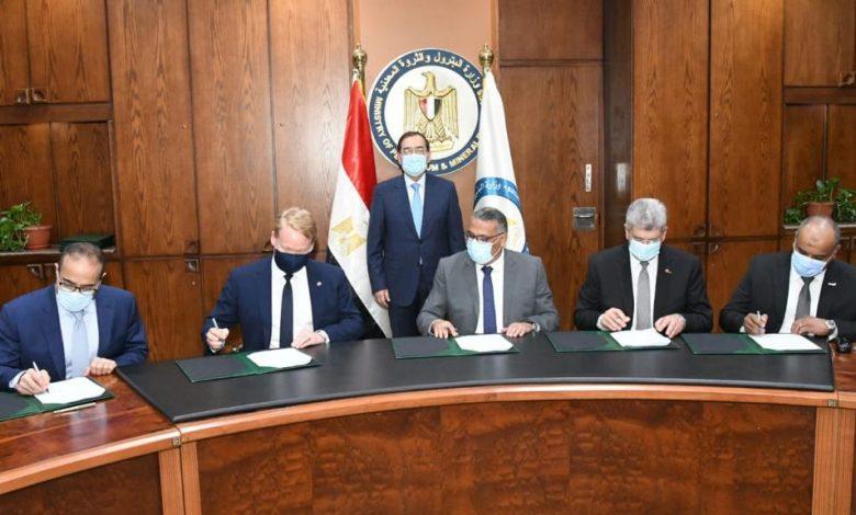 مصر توقع عقد تنفيذ أكبر مشروع للبتروكيماويات فى أفريقيا بالعين السخنة