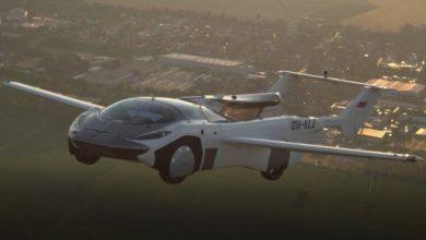 "Photo of لأول مرة .. السيارة الطائرة تجوب مدن سلوفاكيا ""فيديو"""