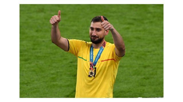 """""""فيديو"""".. حارس مرمي إيطاليا أفضل لاعب في """"يورو 2020"""""""